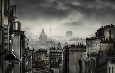 Balcony Photograph - Plague by La Taverne Aux