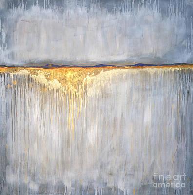 Distant Mountains Painting - Plains Horizon  by Sandi Baker