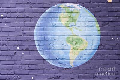 Planet Earth Print by Juli Scalzi