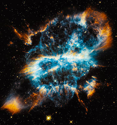 Planetary Nebula Ngc 5189 Original by Marco Oliveira