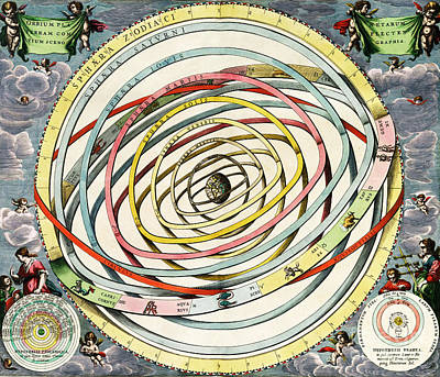 Planetary Orbits, Harmonia Print by Science Source