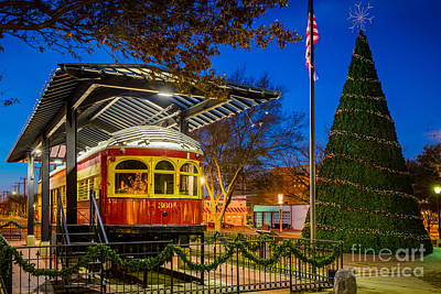 Streetcar Photograph - Plano Trolley Car by Inge Johnsson