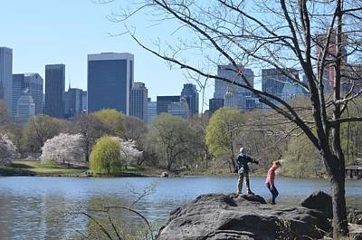 New York City Photograph - Play In Central Park by Sharon Wunder Photography
