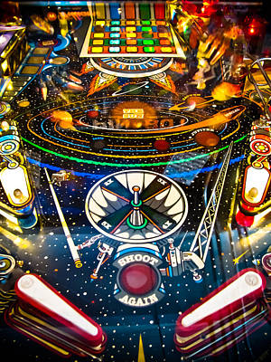 Play Pinball Print by Colleen Kammerer
