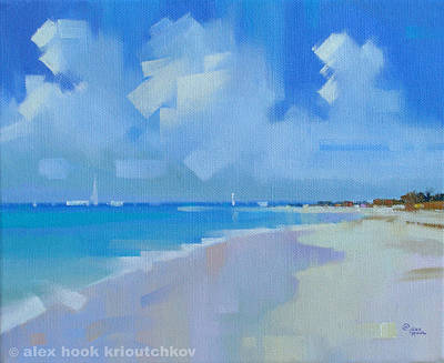 Playa Viii Print by Alex Hook Krioutchkov