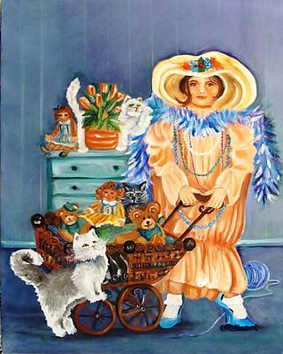 Playing Dress Up Original by Carol Allen Anfinsen