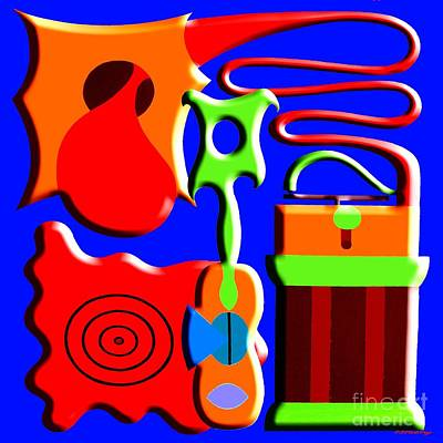 Playing Music Print by Patrick J Murphy