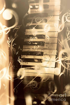 Messy Photograph - Playing Piano by Jorgo Photography - Wall Art Gallery