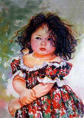 Puerto Rico Painting - Playing To Be A Model by Estela Robles