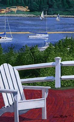 Chatham Painting - Pleasant Bay Cape Cod by Dominic White