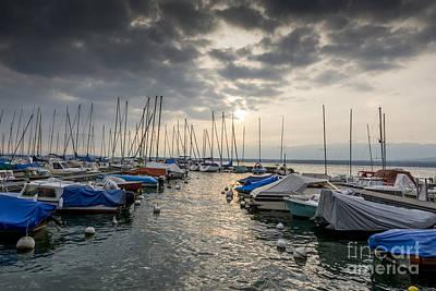 Photograph - Pleasure Boat. France by Bernard Jaubert
