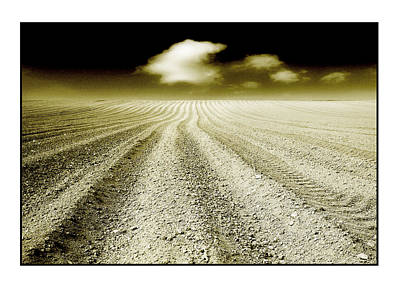 Ploughed 1 Print by Mal Bray