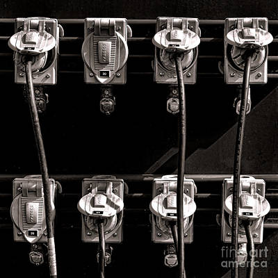 Plug Photograph - Plugged In by Olivier Le Queinec