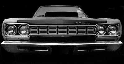 Fury Photograph - Plymouth Fury - Black by Philip Openshaw