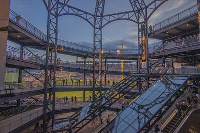 Pnc Park Pittsburgh Pirates D Print by David Haskett