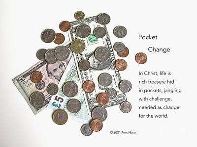 Pocket Change Print by Ann Horn