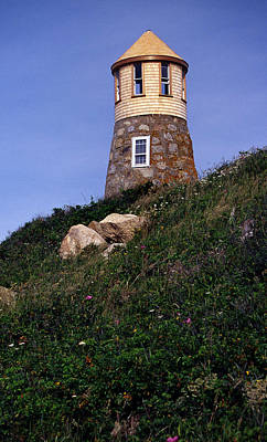 Point Gammon Lighthouse Print by Skip Willits