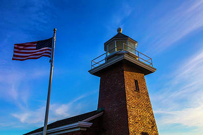 Abbott Photograph - Point Pinos Lighthouse by Garry Gay