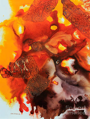 Acrylic Painting - Poisson by Phil Albone