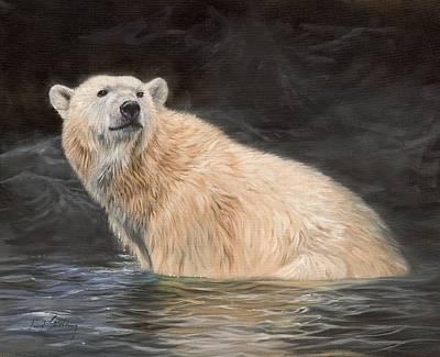 Polar Bear Original by David Stribbling