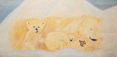 Polar Bears 2 Original by Ken Figurski