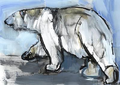Bear Mixed Media - Polar by Mark Adlington