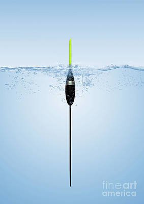 Pole Float Print by John Edwards