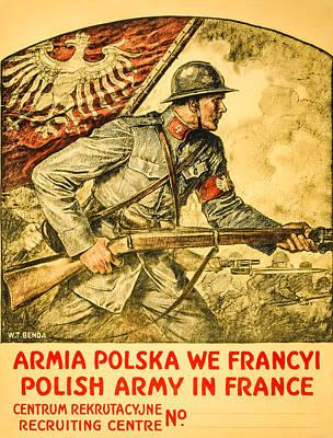 Polish Arny In France Print by David Letts