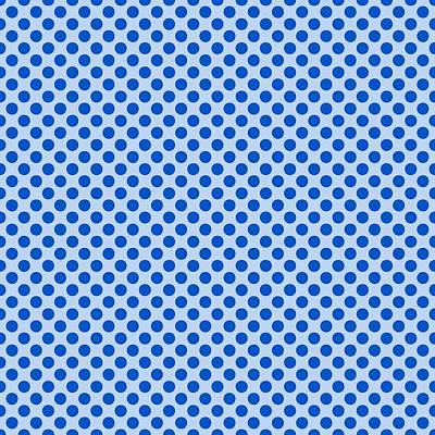 20x20 Digital Art - Polka Dots - 2-toned 18a-p0109 by Custom Home Fashions