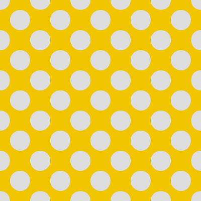 20x20 Digital Art - Polka Dots - L-gray 05-p0109 Pattern by Custom Home Fashions