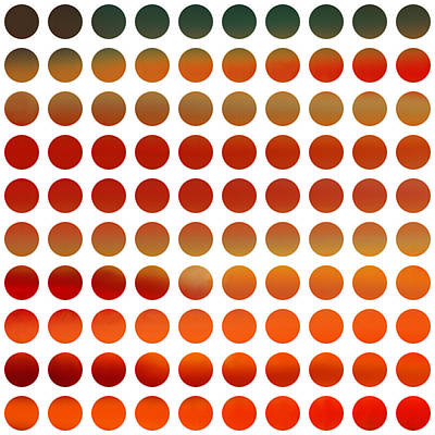 Invitations Digital Art - Polka Dots by Art Spectrum