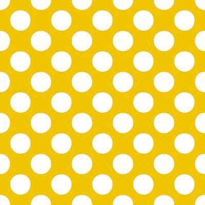 20x20 Digital Art - Polka Dots - White 05-p0109 Pattern by Custom Home Fashions