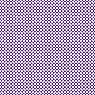 20x20 Digital Art - Polka Dots - White 30-p0109 Background by Custom Home Fashions