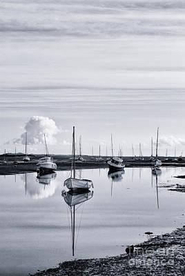Dinghy Photograph - Pollywiggle Brancaster Staithe Norfolk Uk by John Edwards