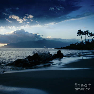 Polo Beach Dreams Maui Hawaii Print by Sharon Mau