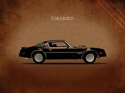 Pontiac Firebird Print by Mark Rogan