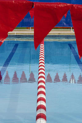 Pool Print by Skip Hunt