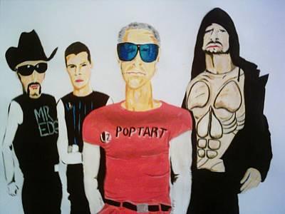 U2 Painting - Pop Tart by Colin O neill