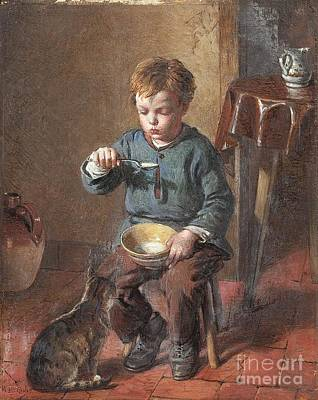 Porridge Painting - Porridge by William Hemsley