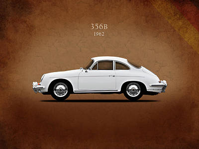 Porsche 356b 1962 Print by Mark Rogan