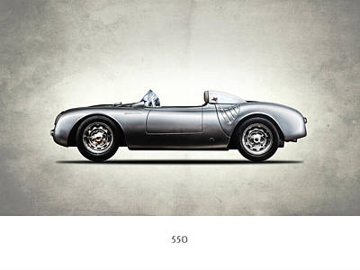 Porsche Photograph - The 550 Spyder by Mark Rogan