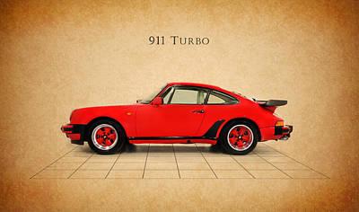 Porsche Photograph - Porsche 911 Turbo 1985 by Mark Rogan
