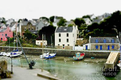 Bono Digital Art - Port Du Bono Brittany France by Mark Hendrickson