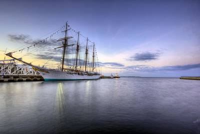 Port Of Call Pensacola Print by JC Findley