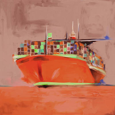 Airport Painting - Port Of Seattle IIi 486 IIi by Mawra Tahreem