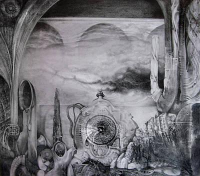 Portal To Bogomils Universe Iv Original by Otto Rapp