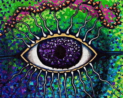 Visionary Art Painting - Portal To Your Subconscious by Veronika Rose
