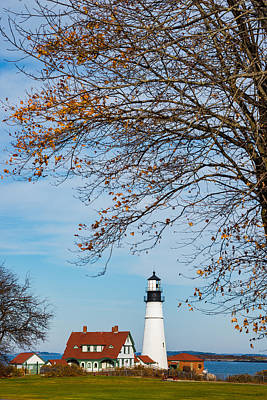 Maine Landscape Photograph - Portland Head Afternoon by Darren White