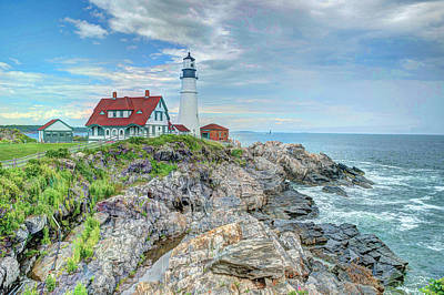 Portland Head Lighthouse #2 Print by Joe Granita