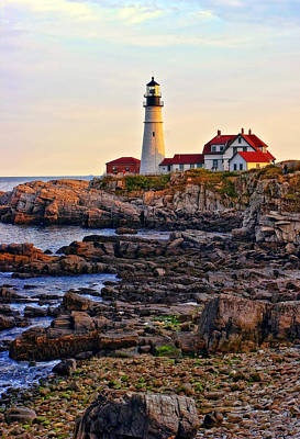 Portland Headlight Print by Marcia Colelli